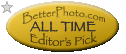 BetterPhoto.com All Time Best Photo Contest Editor's Pick